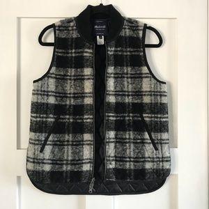 Madewell zip up Vest